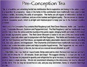Herb Lore Preconception Fertility Tea, 60 Servings, Loose