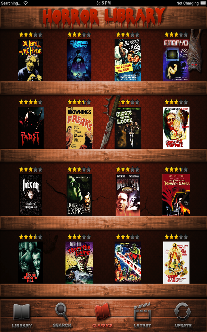 Amazon.com: Best Horror Movies Database: Appstore for Android
