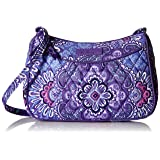 Vera Bradley Little Crossbody, Lilac Tapestry
