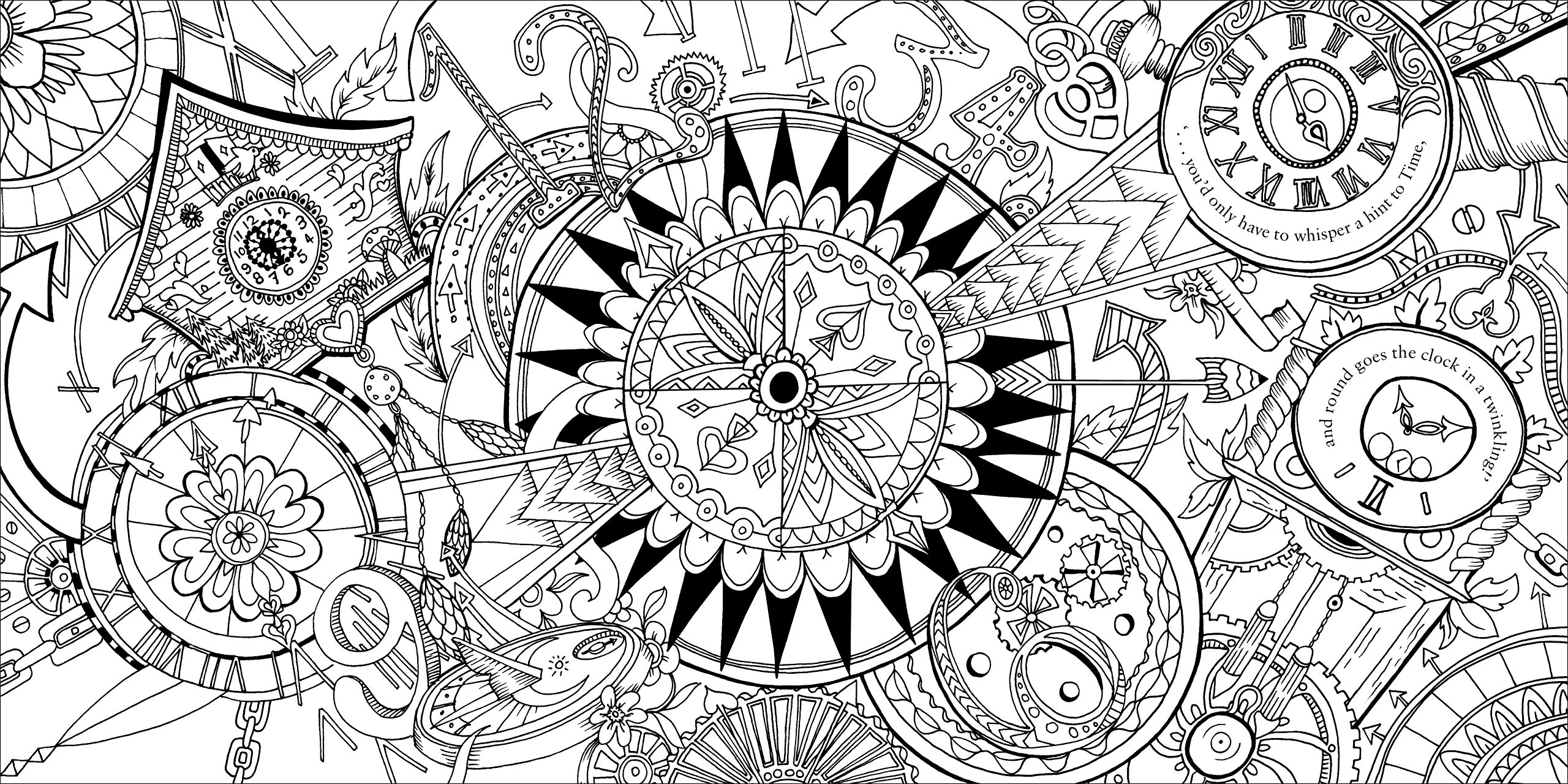 Colouring book - Buy Escape To Wonderland A Colouring Book Adventure Book Online At Low Prices In India Escape To Wonderland A Colouring Book Adventure Reviews Ratings