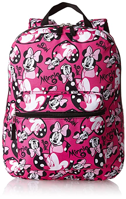 Disney Little Girls' Minnie Mouse Print Backpack