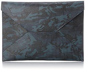 Fin-Calf Masseto Camouflage: Navy
