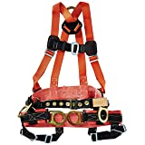 Klein Tools 87890 Fall-Arrest/Positioning/Suspension Harness for Tree-Trimming Work, Small (Tamaño: Small)