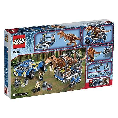 LEGO侏罗纪世界系列Jurassic World T. Rex Tracker 75918 Building Kit