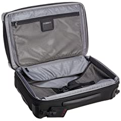 International Expandable 4 Wheeled Carry-On 22060: Black