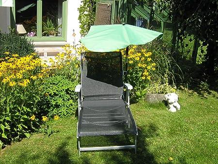 Jardín-Liegen-Juego con cojín para cuello ajustable-5,5kg Fácil-Stabielo-Aluminio ligero-Reposabrazos-Relax-Aluminio-Jar