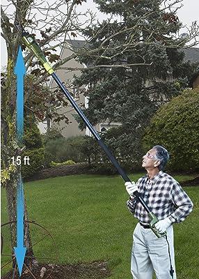 Sun Joe SWJ800E 8-Inch 6.5-Amp Telescoping Electric Pole Chain Saw with Automatic Chain Lubrication System via Amazon