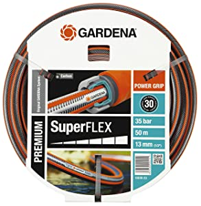 Gardena Premium Superflex Schlauch 12 x 12, 13 mm, 1/2 Zoll, 50 m ohne Systemteile, 1809920  GartenBewertungen und Beschreibung