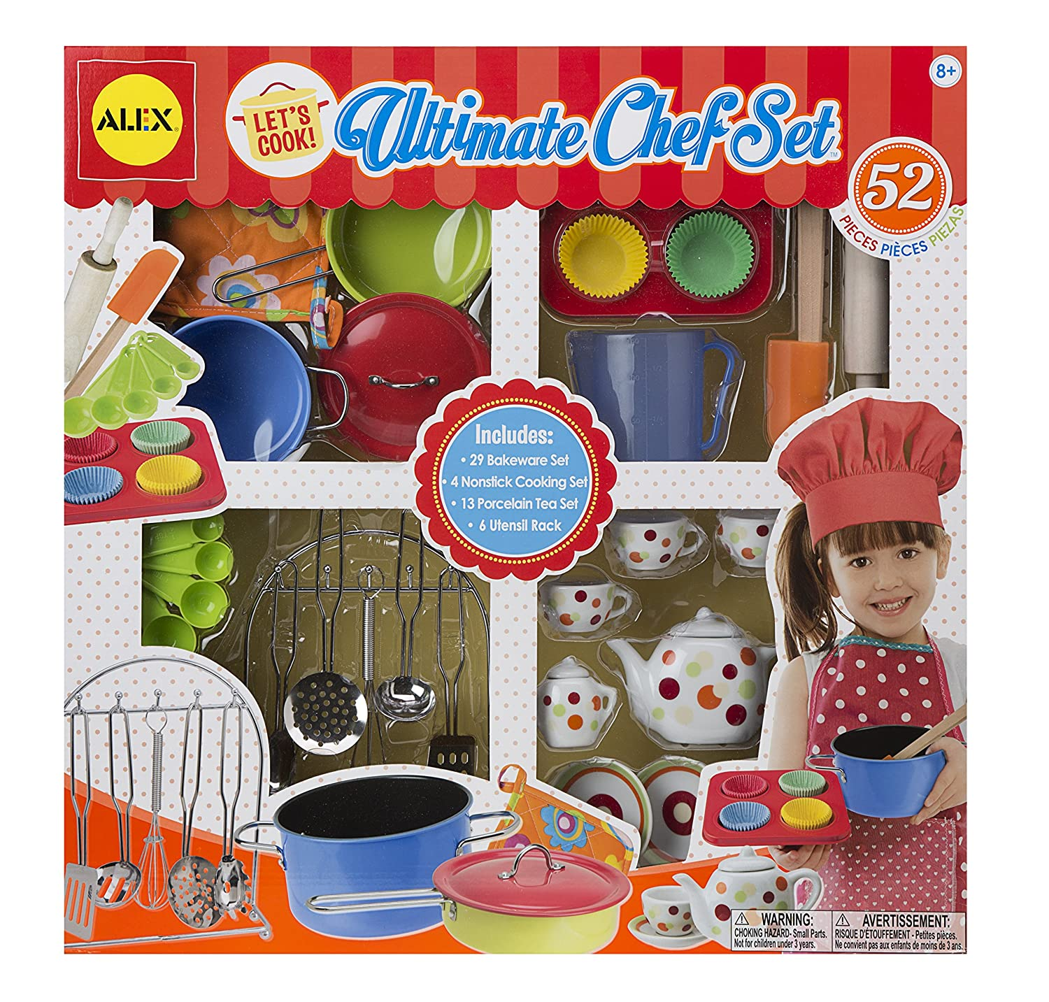 Alex Toys - Pretend and Play - Let's Cook Ultimate Chef Set