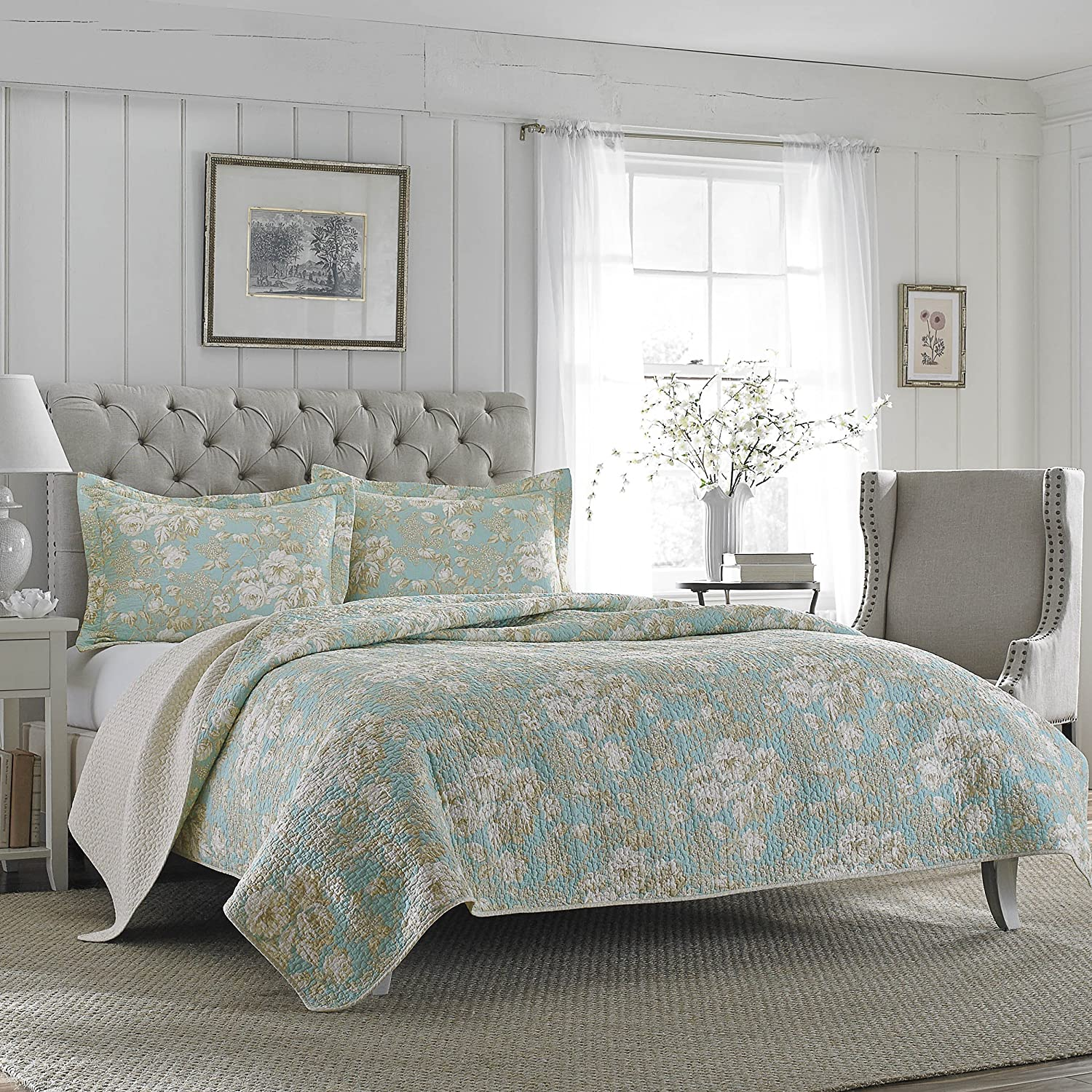 new laura ashley brompton serene floral full queen