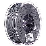 eSUN 1.75mm Silver PLA PRO (PLA+) 3D Printer Filament 1KG Spool (2.2lbs), Silver (Color: Silver)