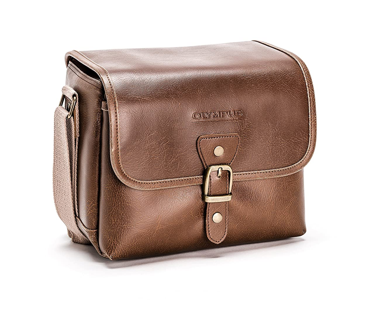 Olympus Tracker Classic Design Vintage Camera Bag (Brown) 0
