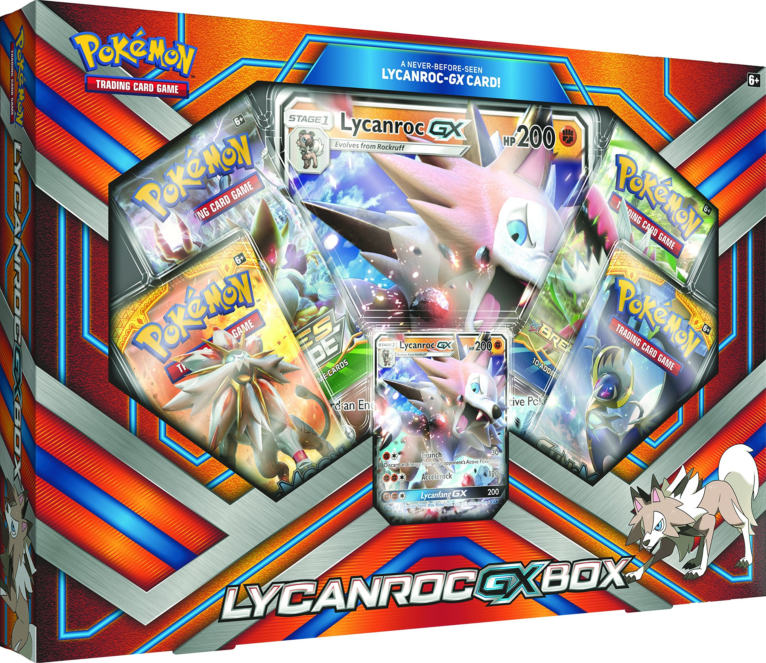 Lycanroc GX Pokemon Card Game