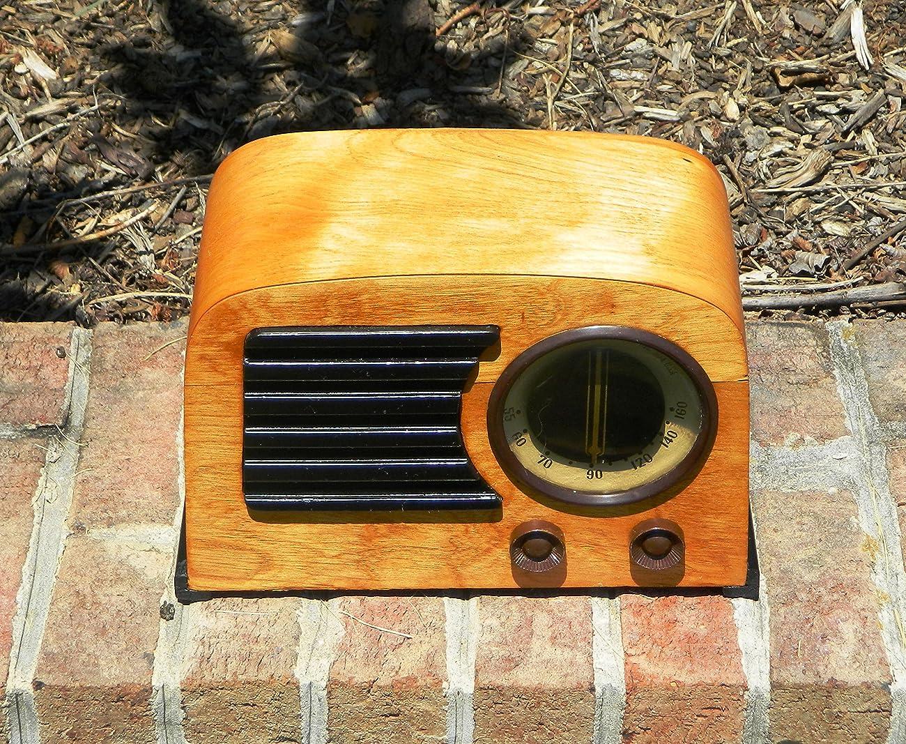 Working Antique 1946 Emerson AM Radio Model 544 1