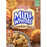 Kelloggs Frosted Mini Wheats Pumpkin Spice 15.5 Ounce (2 Pack)