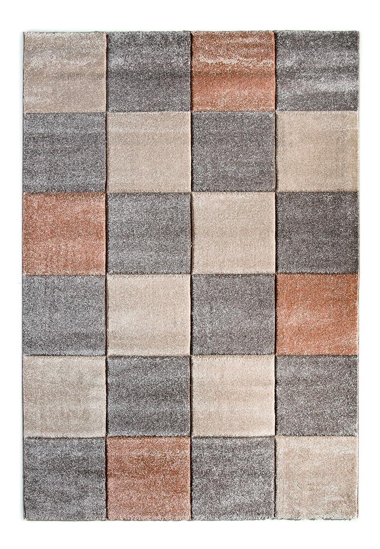 """Sona-Lux Teppich gewebt grau-beige """"Größe auswählen"""" 160 x 230 cm"""