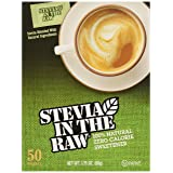 Stevia Sweetener In The Raw, 50 Count Package (Tamaño: 1 Pack)