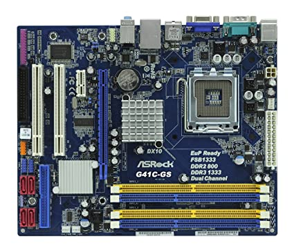Carte mère ASRock G41C-GS 775 M-ATX VGA OnBoard
