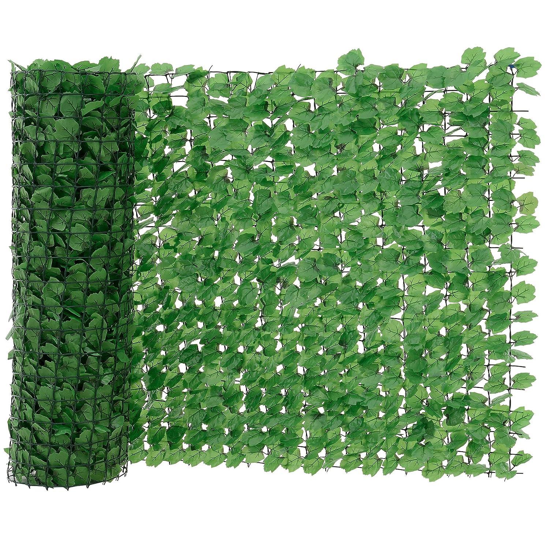 [neu.haus] Blätterzaun (100 x 300 cm) Sichtschutz / Balkon Umspannung / PVC Sichtschutz günstig kaufen