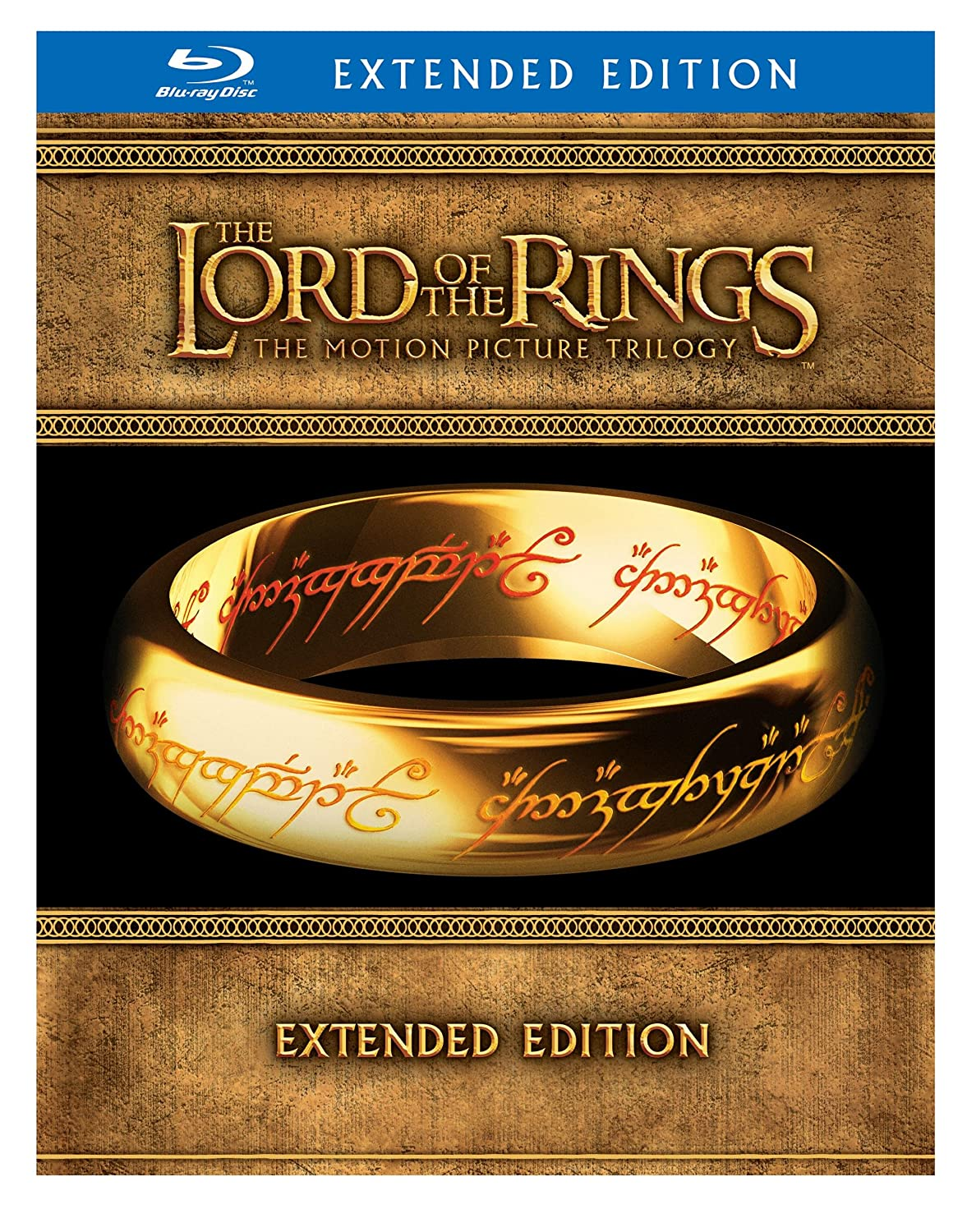 The Lord of the Rings: The Motion Picture Trilogy (Extended Editions)  [Blu-ray] $44.99