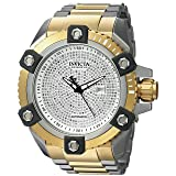 Invicta Men's 'Reserve' Automatic Stainless Steel Casual Watch, Color:Two Tone (Model: 26324)