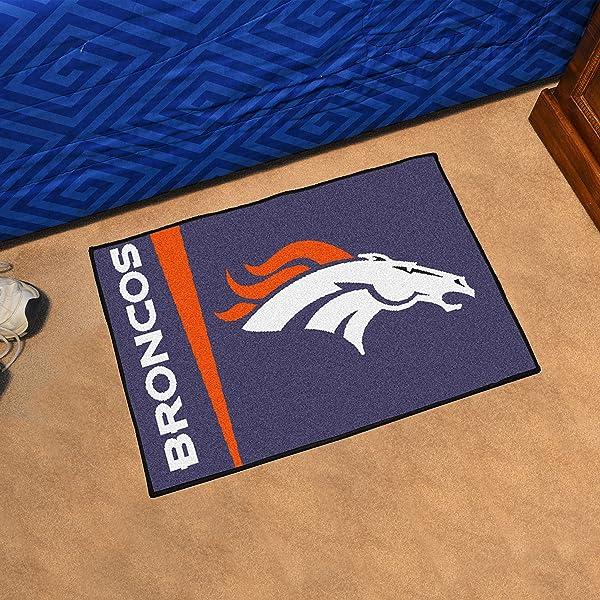 Fanmats NFL Denver Broncos Nylon Face Starter Rug