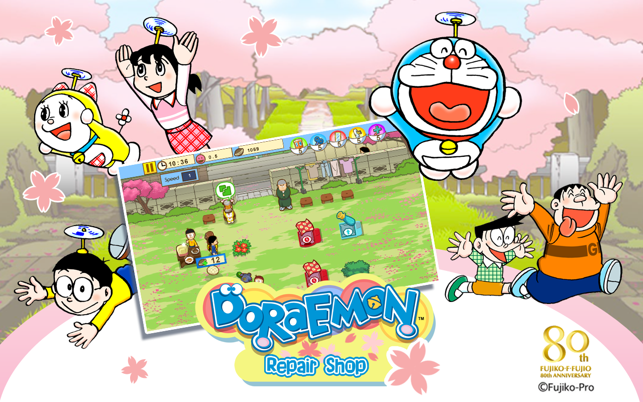 Doraemon repair shop seasons appstore for android for Doraemon new games