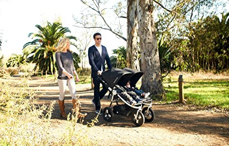 The best strollers for twins - Bumbleride Indie Twin Jogging Double Stroller