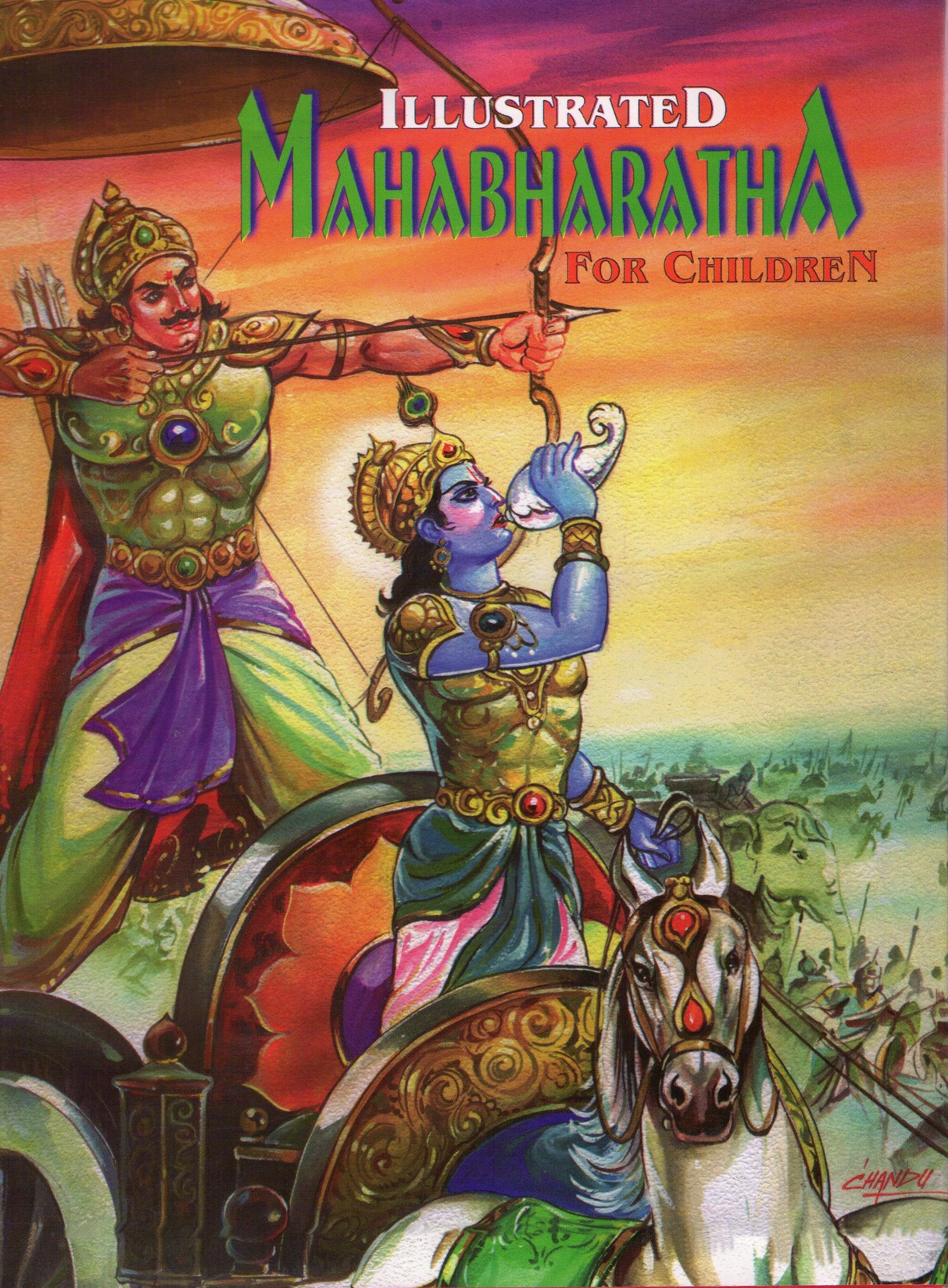 Children Book Cover Page : The mahabharata book imgkid image kid has it