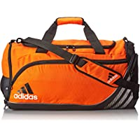 Adidas Team Speed Medium Duffel Bag (Team Orange/Black)