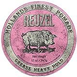 Reuzel Pink Pomade 12 oz (Color: Pink, Tamaño: 0.12)