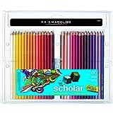 Prismacolor 92808HT  Scholar Colored Pencils, 60-Count (Color: Assorted Multicolor, Tamaño: 60-Count)