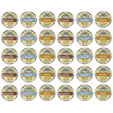 Grove Square Cappuccino Variety Pack, 30 Single Serve Cups (Tamaño: 30 Count)