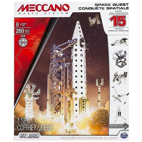 Meccano - 6026302 - Jeu de Construction - Conquête Spatiale 15 Modèles