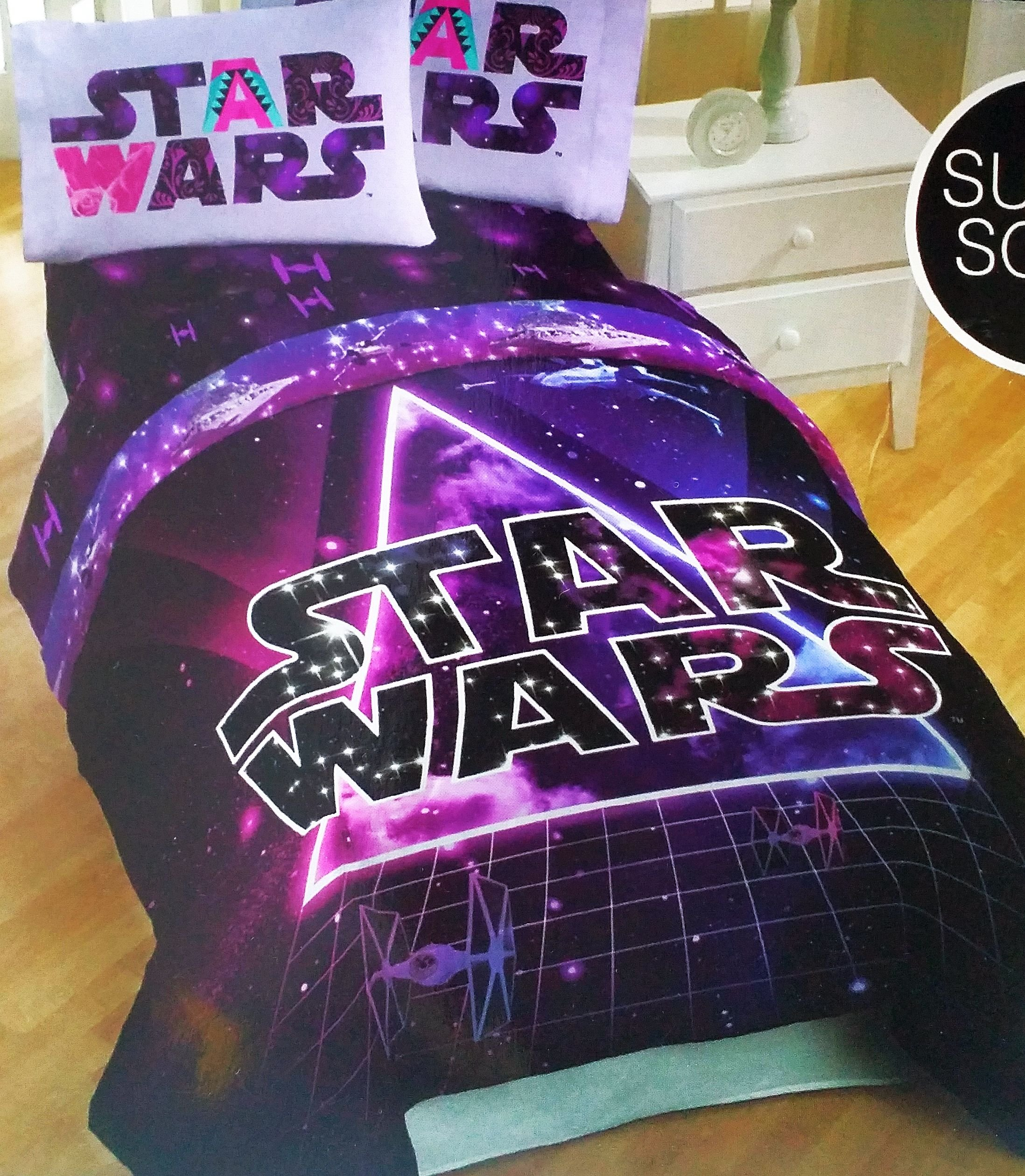 Star Wars  Piece Twin Bed Set