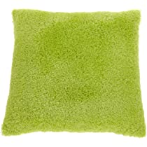 Poodle 25 by 25 Cushion Lime