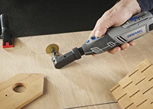 Dremel 575 Right Angle Attachment for Rotary Tool (Color: As the picture shown, Tamaño: Medium)