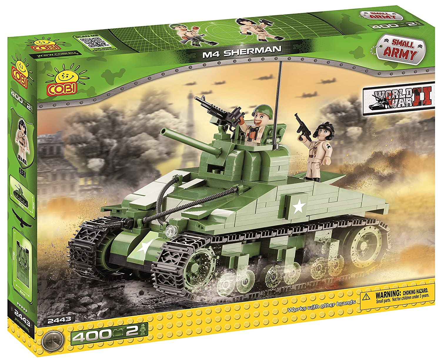 Cobi 2443 Small Army World War Ii M4 Sherman günstig bestellen