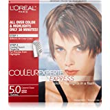 L'Oréal Paris Couleur Experte Hair Color + Hair Highlights, Medium Brown - Caramel Glaze