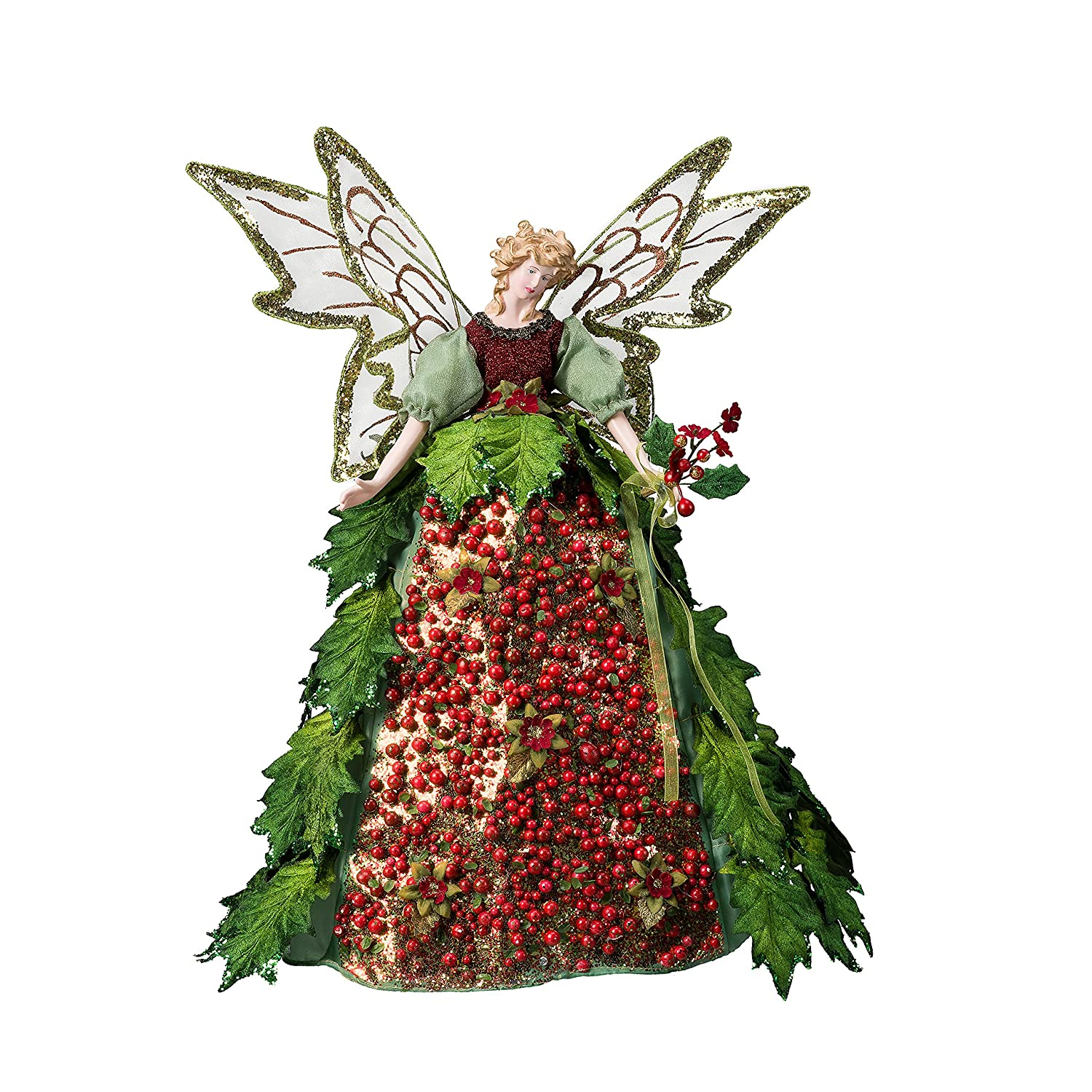Small Angel Christmas Tree Topper: Angel Unlit Tree Toppers Page Three