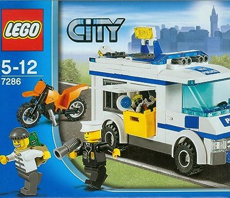 Lego City - 7286 - Jeu de Construction - Le Transport de Prisonnier