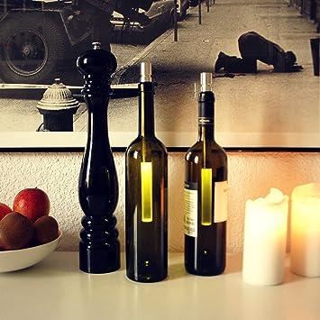 Stablampe Bottlelight / LED Stableuchte / Beleuchtung Von Weinflaschen /  Bottle Light, Bottlelight Warmweißes Licht