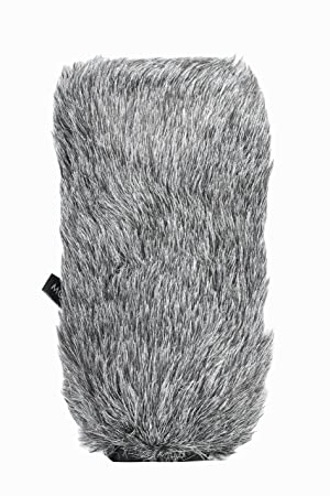 Movo WS-S1000 Furry Outdoor Deadcat Windscreen for Shotgun Microphones up to 7-inch (18cm) Long - Fits Rode VideoMic, NTG-2, Sennheiser ME66, Audio-Technica AT-897 and More