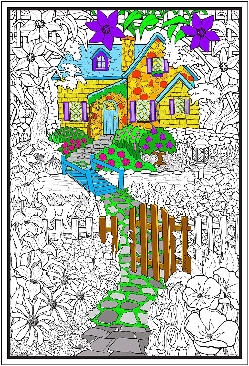 Line Art Posters Line Art Coloring Poster