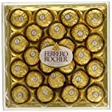 Ferrero Rocher - 24 Chocolates Box - 300g (Color: Standard Packaging, Tamaño: 10.6 Oz)