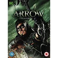 Arrow Season 1-4 (DVD)