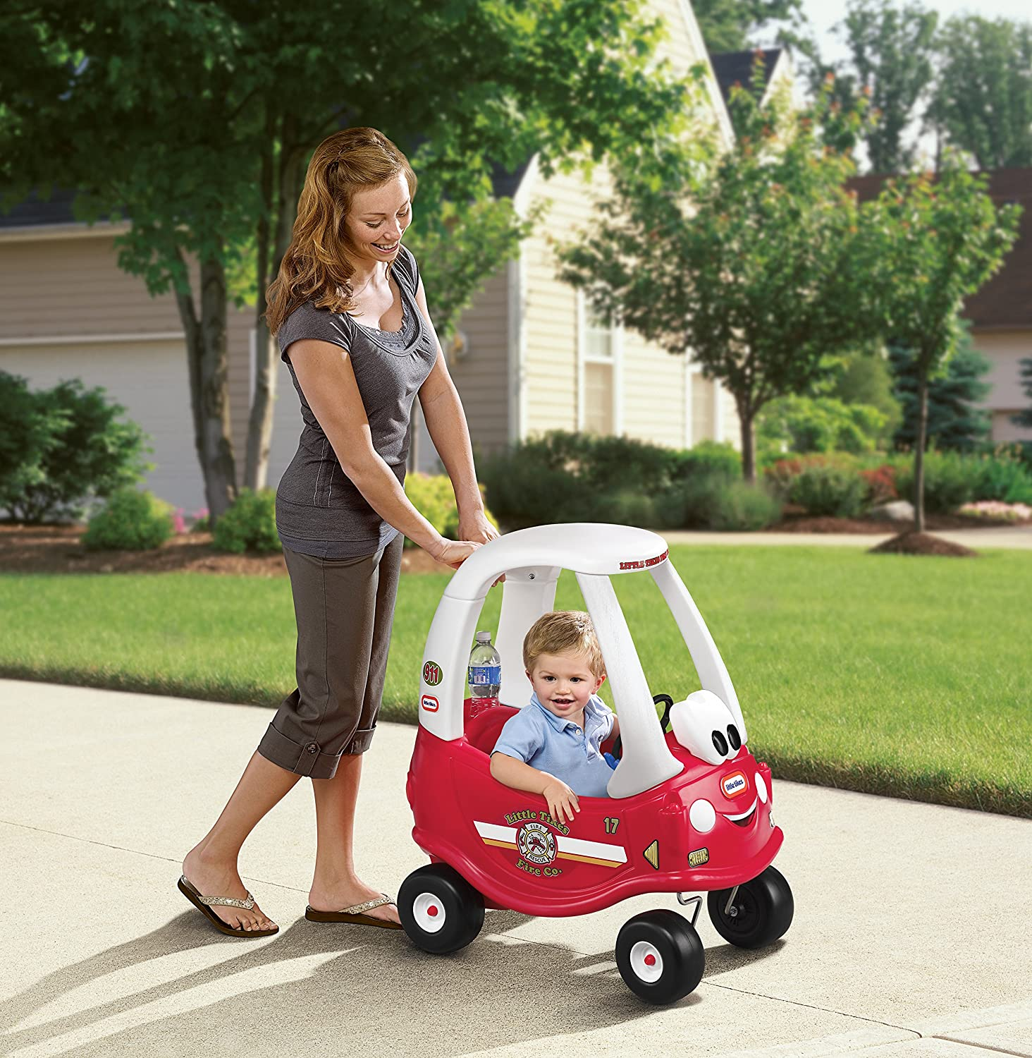 Little Tikes Fire and Rescue Cozy Coupe Ride-On