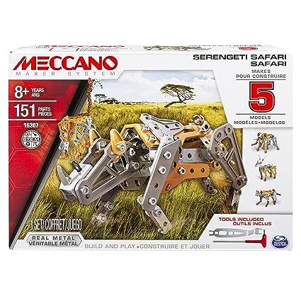 Meccano - 6033322 - Jeu de Construction - Safari 5 Modèles