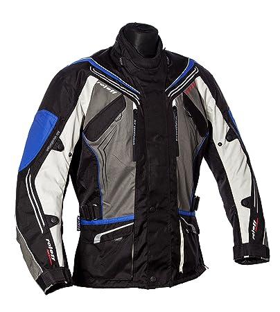 Roleff Racewear 151127 Veste Moto Turin, Bleu, Taille XXXL