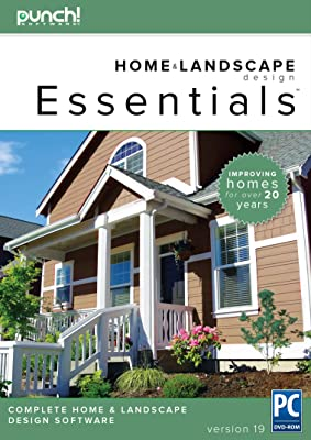 Punch! Home & Landscape Design Essentials v19 - Home Design Software for Windows PC [Download]